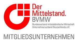 Mitglied beim BVMW - Bundesverband mittelständische Wirtschaft Unternehmensverband Deutschland E.V.