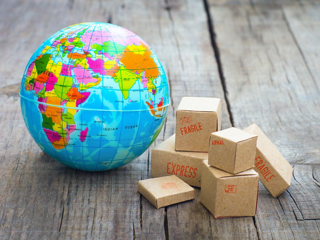 Reibungslose Export von Waren in Drittländer